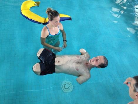 Bob in the pool