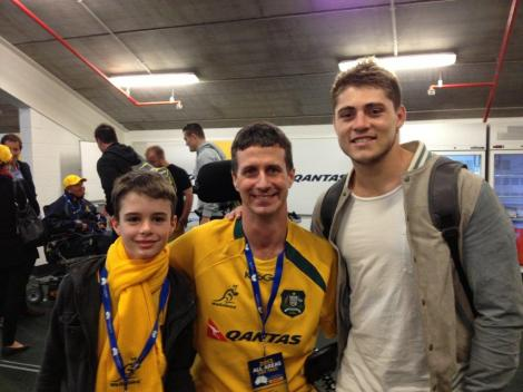 James O'Connor with Matthew and Luke
