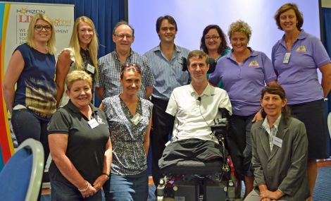 The great team from Horizon Foundation, a disability care organisation.
